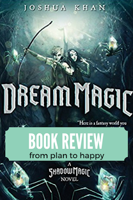 Dream Magic by Joshua Khan is the second book in the Shadow Magic series. It's not often you come across a middle grade fantasy series with death and destruction, but enough humor to keep the mood light.  #middlegrade #books #reading #bookreview