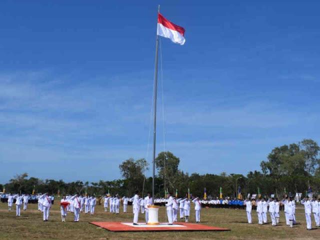Peringatan Detik-Detik Proklamasi di MBD Berlangsung Khidmat