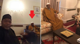 68 days After: Here's The first Picture Of Buhari In London