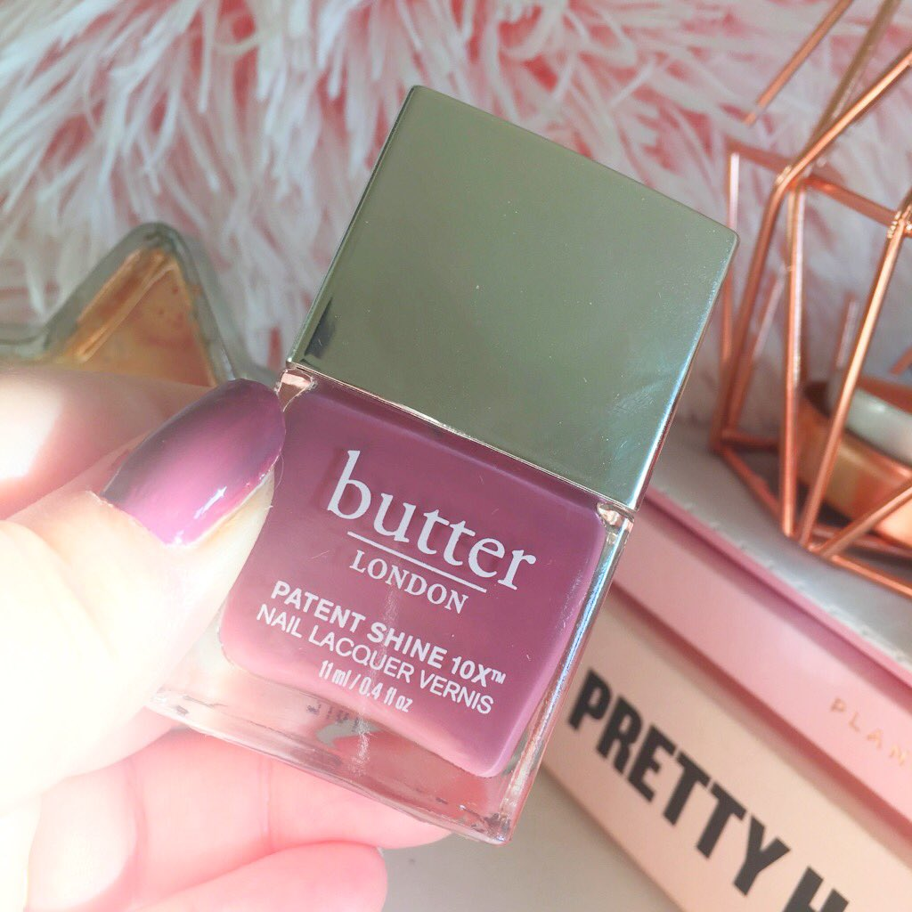 Butter London Nail Polishes Review* | Food and Other Loves