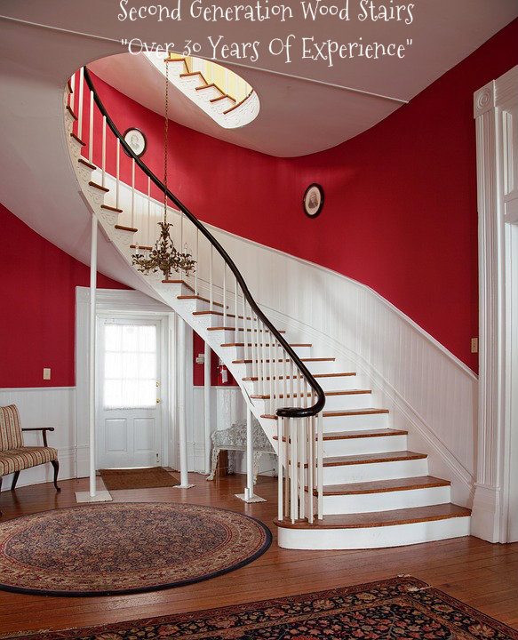 Second Generation Wood Stairs How To Maintain And