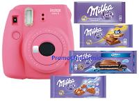 Logo Milka ''Insieme c'è più gusto'': vinci 63 Instax Camera Mini9 di Fujifilm con kit pellicole