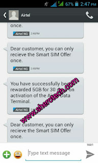 Latest Airtel free 5gb imei 2016