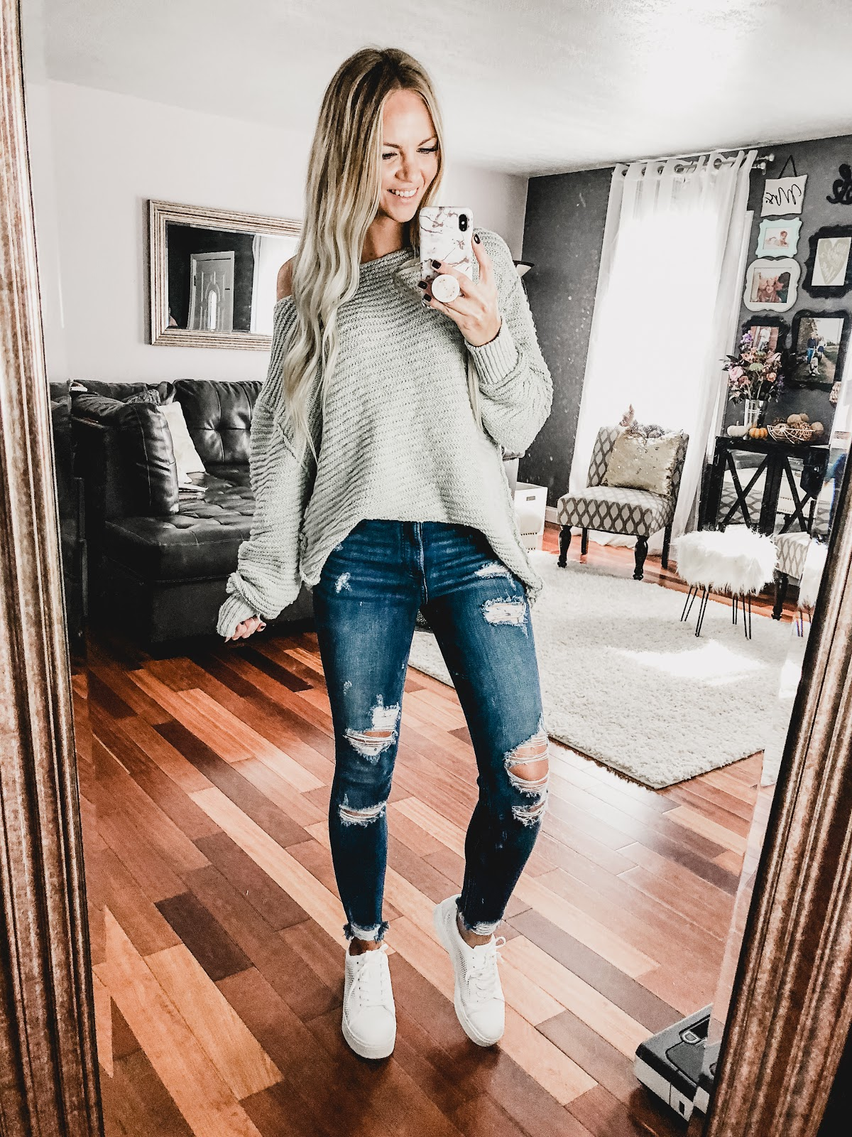 Try-on Haul with Try.com! fall fashion style outfit outfits shopping mom mommy daughter girl girls womens shoes sneakers platform leopard cardigan sweater sweatshirt leggings outfit ideas autumn haul clothing shop