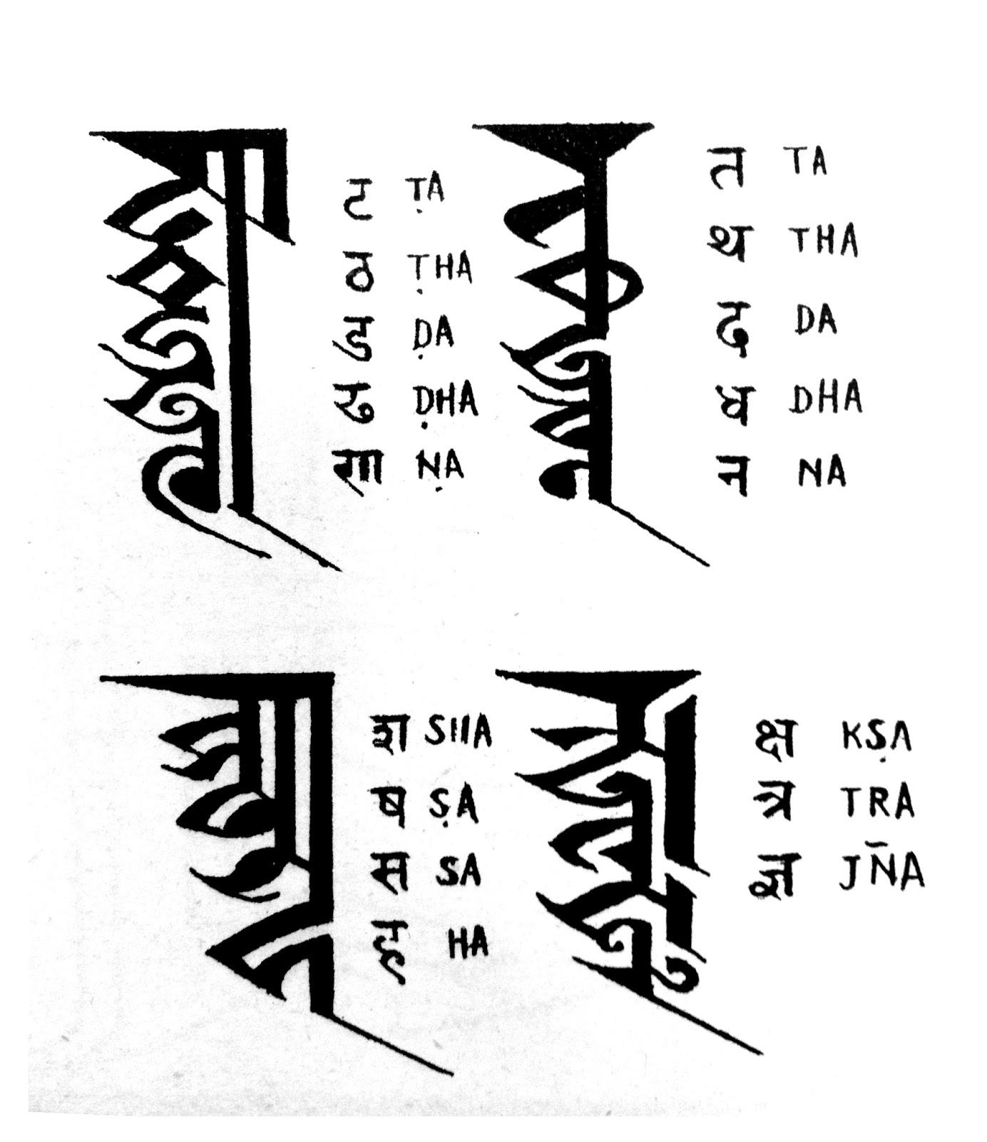 New nepali fonts kutakshar monogram script nepal kutakshar monogram script nepal bhasa newa lipi ranjana altavistaventures Images