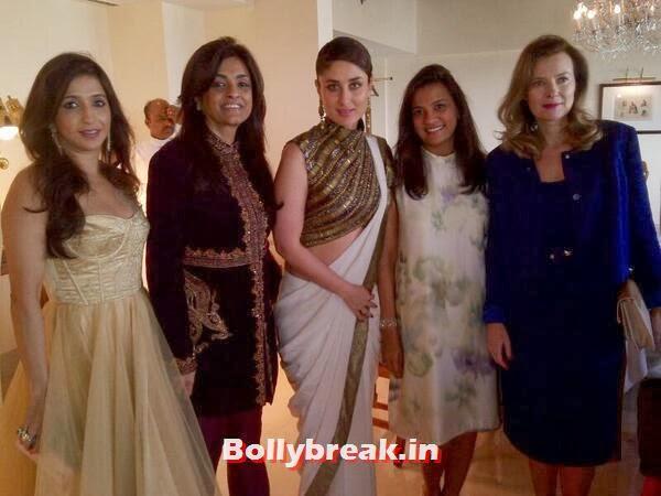 , Kareena Kapoor Khan at French First Lady Valerie Trierveyler Reception