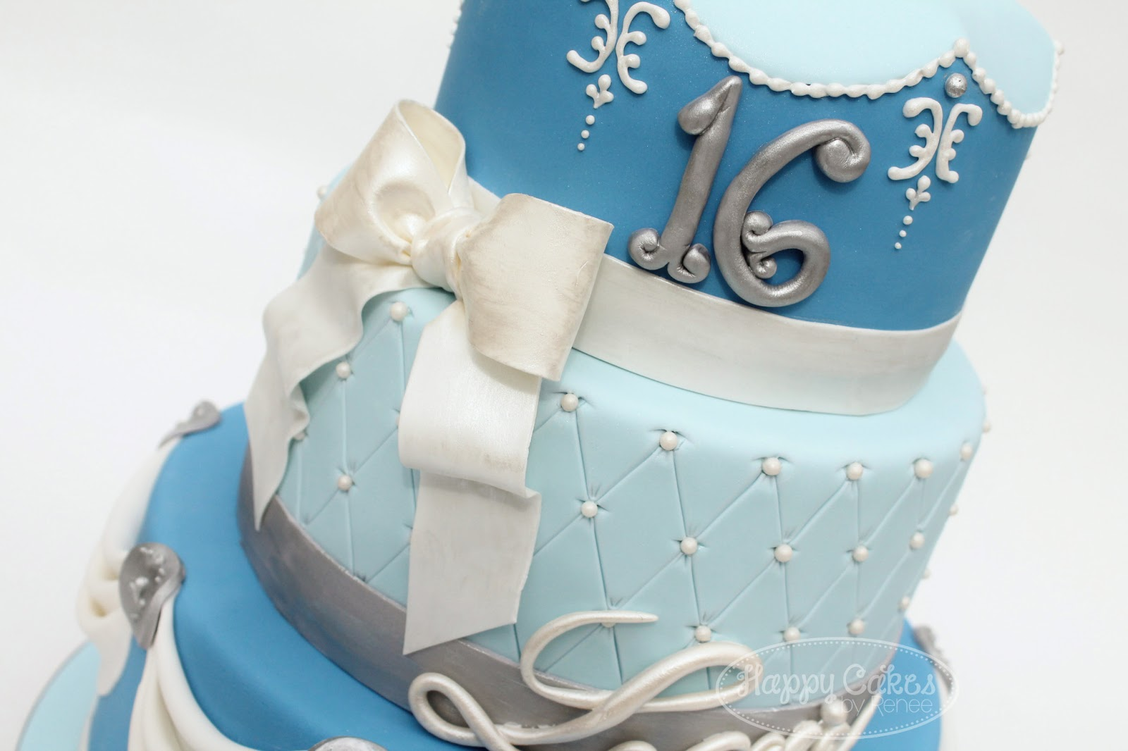 Cinderella Glass Slipper Birthday Cakes