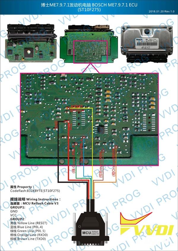Bosch ME7.9.7.1 ECU ST10F275