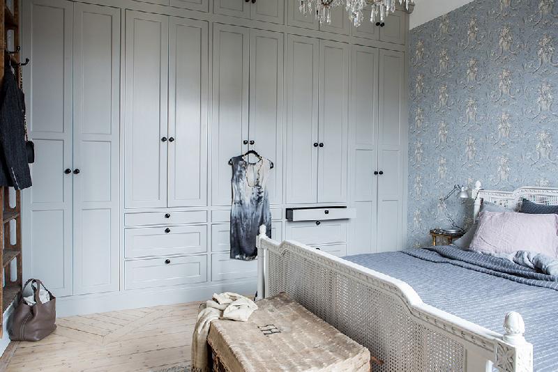 Arredare piccoli spazi 58 mq di pura eleganza a Goteborg camera