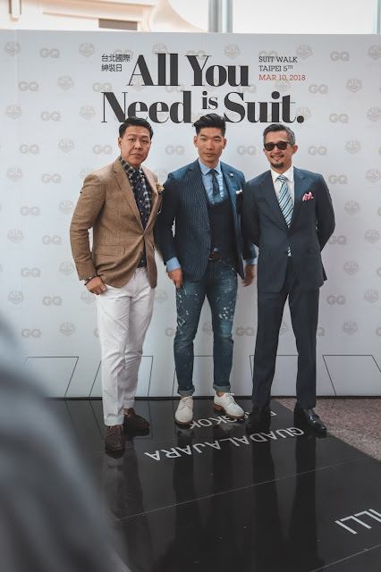 GQ Taiwan Suit Walk 台北國際紳仕週