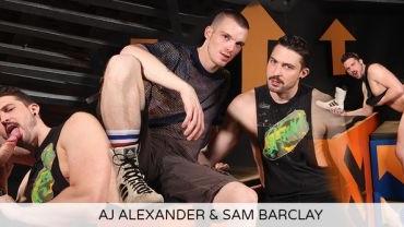 AJ Alexander & Sam Barclay