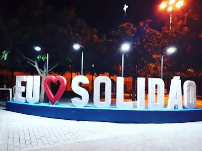 BLOG DO IVONALDO FILHO: Solidão recebe letreiro turístico
