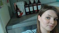 Mon test : #BotanicalsFreshCare Comme promis les photos duTest des produits L'OREAL PARIS  Produit au physique prometteur on dirait des shampoing professionels que l'on pourrait retrouver chez son coiffeur Verdict : C'est de la bombe bébé ! Vous retrouver toutes les vertus du géranium pour les cheveux coloré Un régal , l'odeur à tombé ! Très fleuri parfumé tient sur le cheveux .... Et après plusieurs shampoing , le cheveux est brillant , bientot la photo qui va avec le resultat J'ai pu distribuer les autres produit qui me convenait bien à ma famille Leur retour prochainement ....