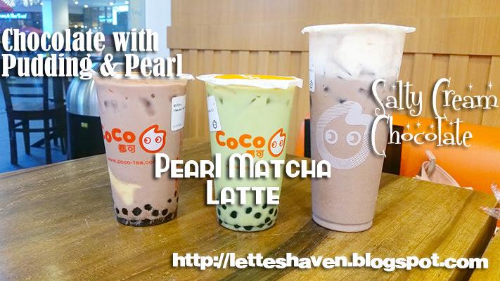 Lette's Haven: CoCo Fresh Tea & Juice
