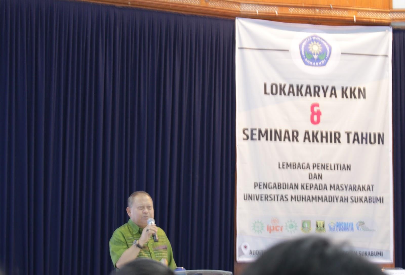 Sambutan Rektor UMMI, Dr. Sakti Alamsyah, M.Pd