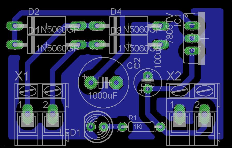 5V Power Supply Circuit   circuits4you.com