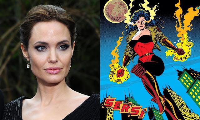 """Angelina Jolie pode estrelar """"Os Eternos"""", da Marvel Studios"""