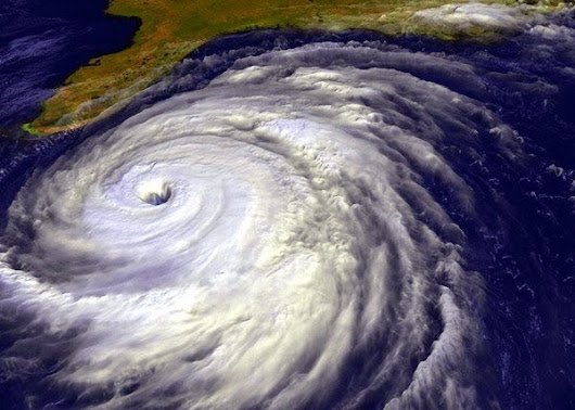The Eye Of The Tropical Cyclone (from Space)
