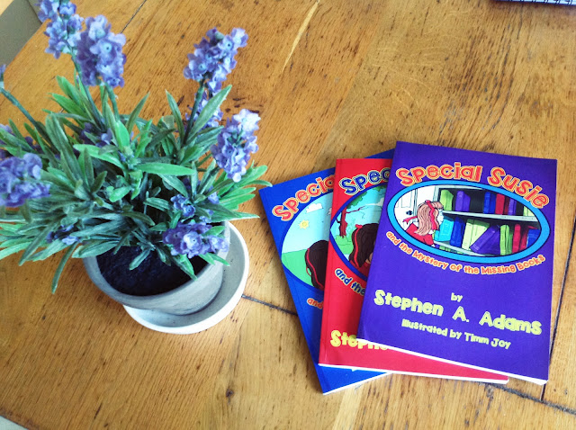 stephen a adams special susie books giveaway