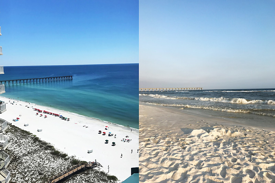 Travel Florida, Florida Beach Vacation, Travel Blogger, College Blogger, Lifestyle Blogger, Gulf Coast Beaches, Destin, Navarre, Pensacola, Turquoise Water, White Sand, Ocean, Beaches, Vacation Tips, Ocean Life