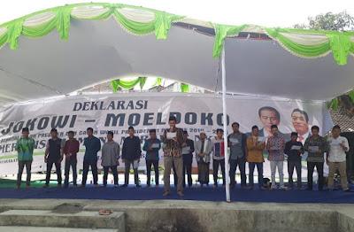 Aliansi Masyarakat NTB Deklarasikan Jokowi - Moeldoko Capres Cawapres