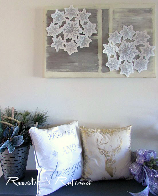 Simple and easy holiday decor projects