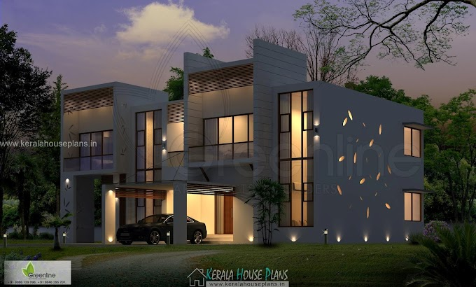 Beautiful house elevation kerala in 3010 sqft