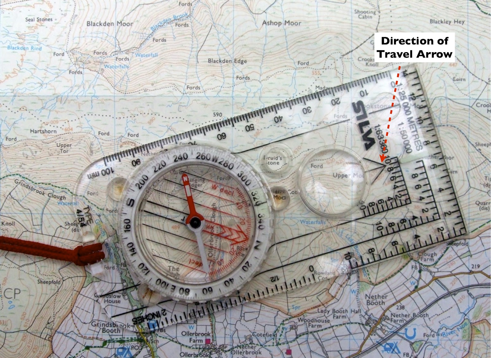 News From Peak Navigation Courses How To Use A Compass