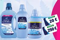 Logo Concorso ''Felce Azzurra & Ipersoap'': vinci 100 buoni spesa da 20€ e 2 da 250€