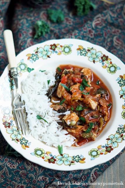 potrawka, dietetycznie, kurczak, indyk, hashimoto, obiad, bernika, jarmuż kulinarny pamietnik, gulas