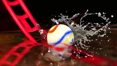 MARBLE RACE SPLASH with Elevetor - Underwater marble run Tournament