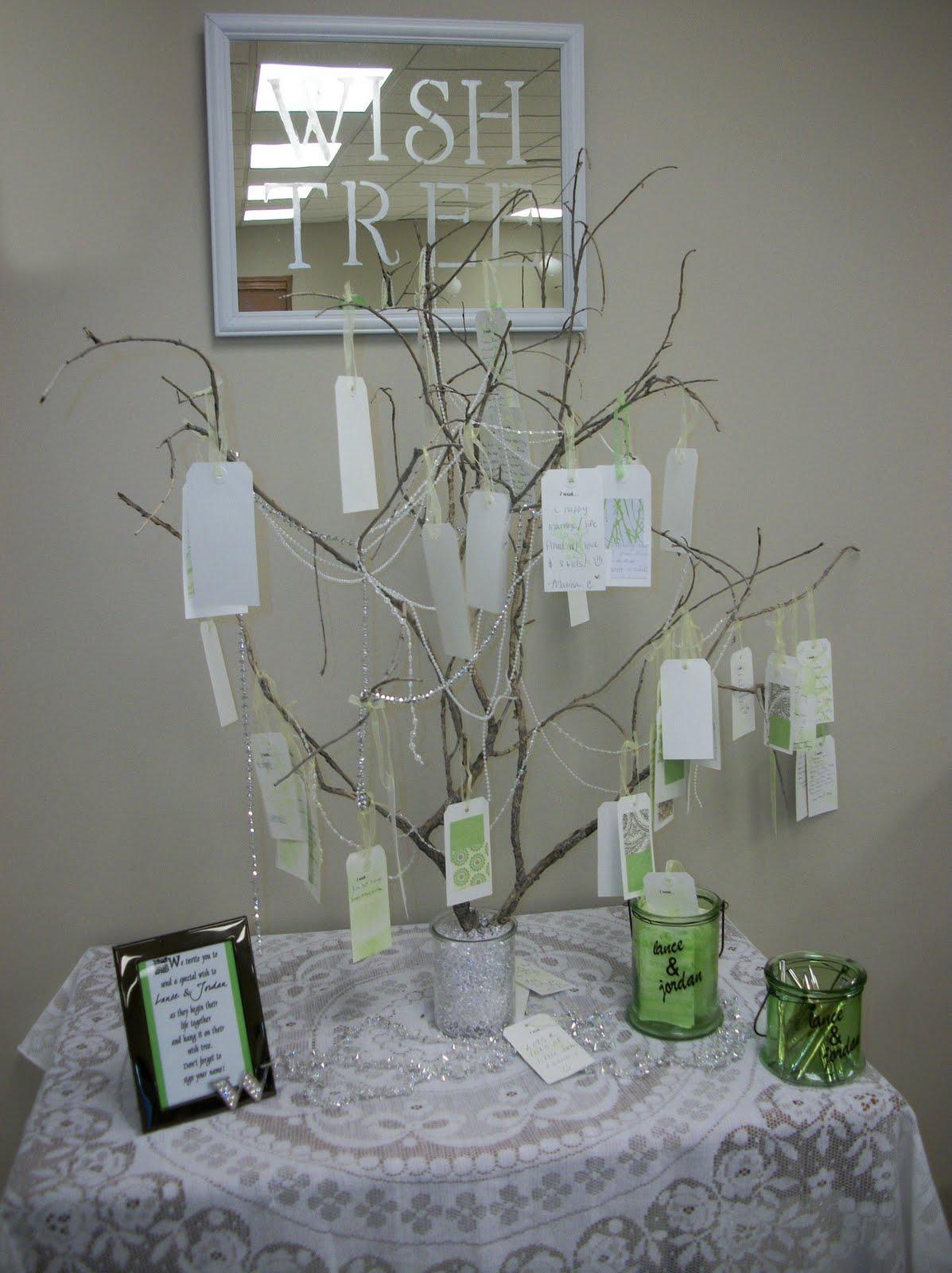 wish tree, DIY wish tree, wedding wish tree