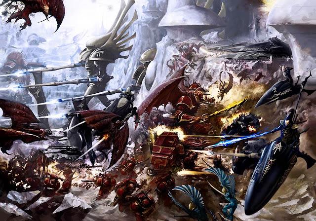 Aeldari vs Caos