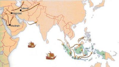 Teori-Teori Tentang Proses Kedatangan dan Masuknya Islam ke Nusantara Indonesia