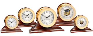 Chelsea Ship's Bell Clocks on Sale - $.01 Shipping on all orders!