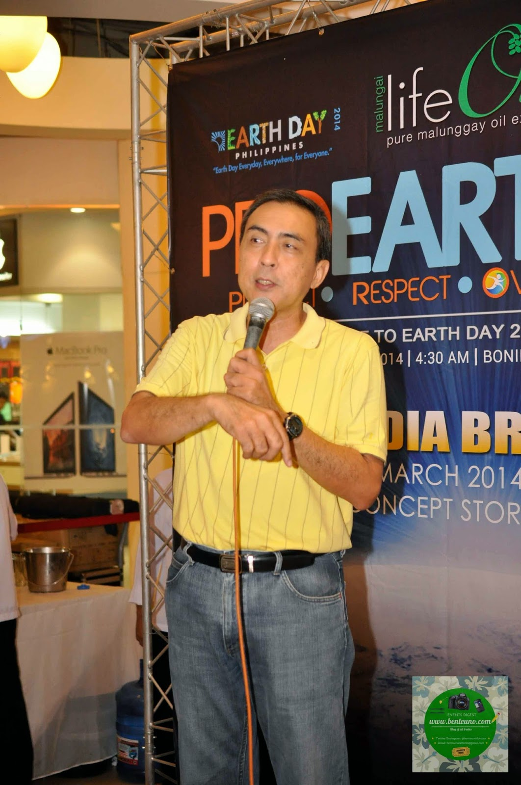Bert Guevara, President of Earth Day Network Philippines
