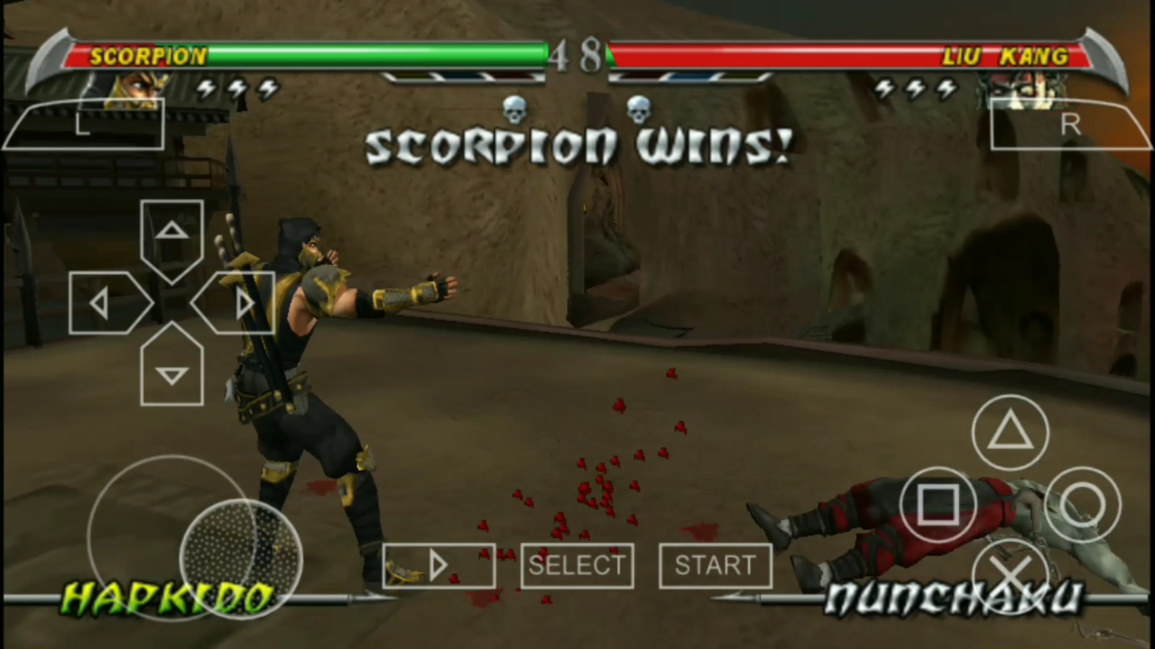 download game ppsspp mortal kombat shaolin monks highly compress