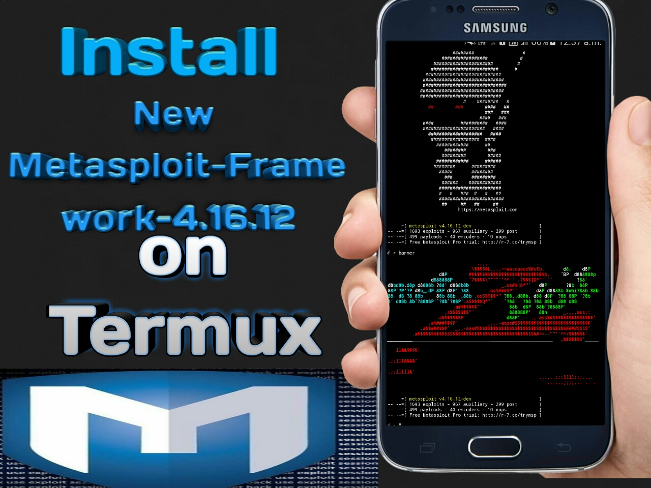 How to Install Metasploit-Framework-4 16 2 on Termux without