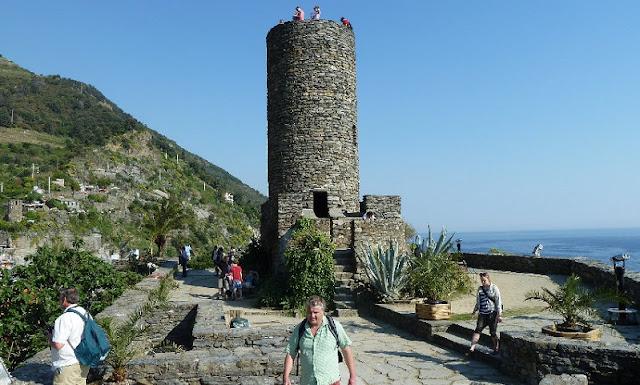 Visita ao Castello Doria em Vernazza