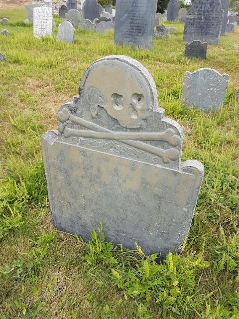 Old Burial Hill Marblehead Salem Massachusets