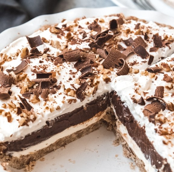 ARKANSAS POSSUM PIE #dessert #chocolate