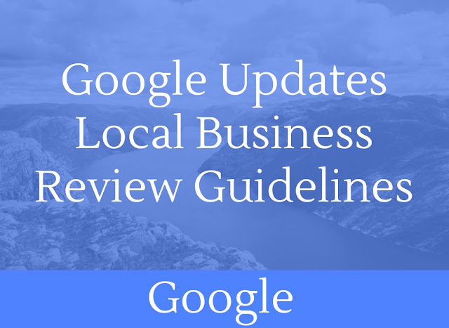 Local Business Review Guidelines