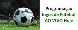 Confira aqui os jogos de futebol com transmissão ao vivo hoje