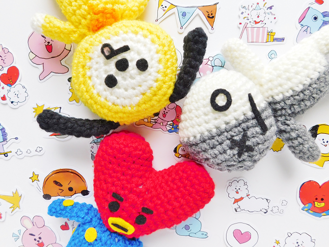 BT21 Tata Plush Crochet Pattern