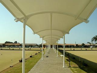 tenda membrane - gudang canopy