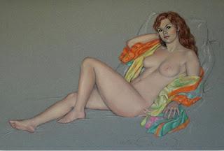 Dibujos De Mujeres En Pastel