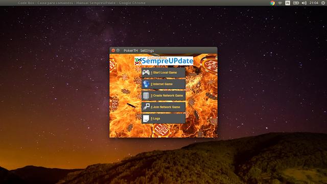 Como instalar o PokerTH no Ubuntu, Linux Mint e derivados e jogar o Poker tradicional!