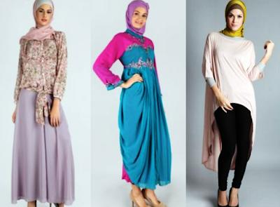 contoh baju muslim modern 2016