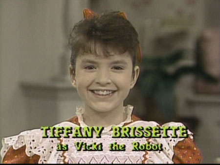 Small Wonder adopted robot