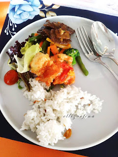 lunch at aston jogja